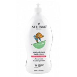 ATTITUDE - Препарат за измиване на бебешки съдове без аромат 700мл