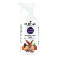 ATTITUDE - Препарат за измиване на плодове и зеленчуци без аромат 800мл