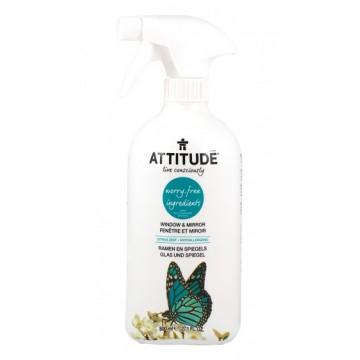 ATTITUDE - Препарат за стъкла и огледала цитрус 800мл
