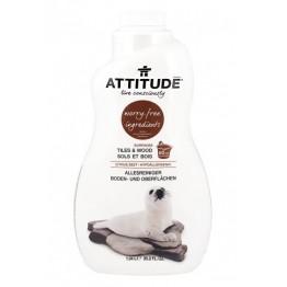 ATTITUDE - Препарат за почистване на всякакви повърхности цитрус 1040мл