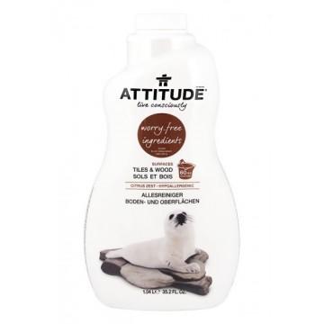 ATTITUDE - Препарат за почистване на всякакви повърхности цитрус 1050мл
