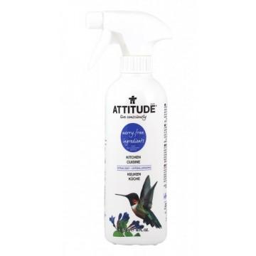 ATTITUDE - Препарат за кухненски повърхности цитрус 475мл