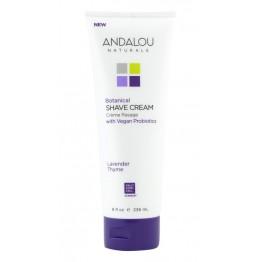 Andalou - Крем за бръснене Лавандула и мащерка 236мл