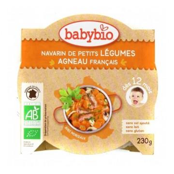Babybio - Био меню с агнешко месо и зеленчуци купичка след 12 месеца 230г