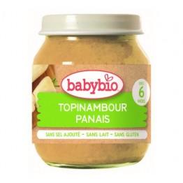 Babybio - Био бебешко зеленчуково пюре с артишок, картоф и пащърнак 130г