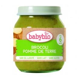 Babybio - Био Зеленчуково пюре Броколи и Картофи 130г
