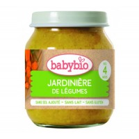 Babybio - Био Зеленчуково пюре Градински зеленчуци 130г