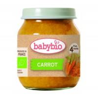 Babybio - Био Зеленчуково пюре Моркови 130г