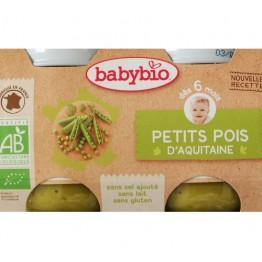 Babybio - Био зеленчуково пюре с грах 130г