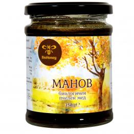 BioHoney - Био Горски манов мед 350г