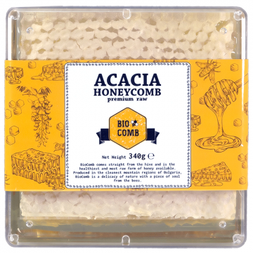 BioComb - Пчелна пита Акация 340г