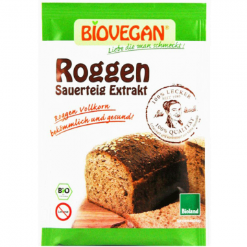 Biovegan - Био закваска от ръж 30г