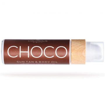 COCOSOLIS - CHOCO Sun Tan & Body Oil, Био масло за шоколадов тен и хидратирана кожа 110мл