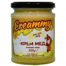 Creammy - Крем мед натурален 350г