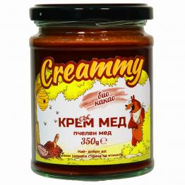 Creammy - Крем мед с био какао 350г