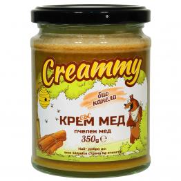 Creammy - Крем мед с био канела 350г