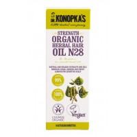 Dr. Konopka's - Органично подсилващо билково масло за коса №28 30мл