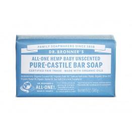 Dr. Bronner's - Био сапун с коноп без аромат бебешки 140г