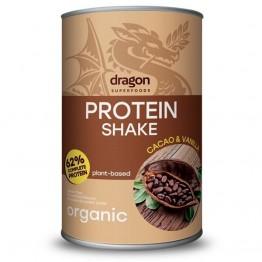 Dragon Superfoods - Био Протеинов Шейк с Какао и Ванилия 500г