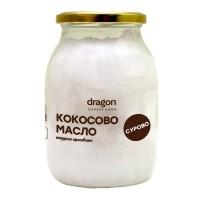 Dragon Superfoods - БИО КОКОСОВО МАСЛО СТУДЕНО ПРЕСОВАНО 1л