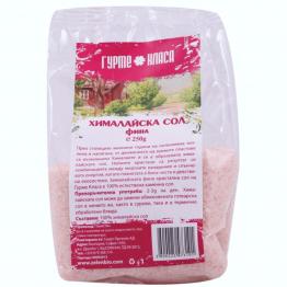 Гурме класа - Хималайска сол розова фина 250г