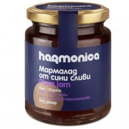 Harmonica - Био мармалад от сини сливи БЕЗ ЗАХАР 300г
