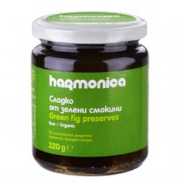 Harmonica - Био сладко от зелени смокини 320г