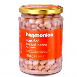 Harmonica - Био зрял боб в буркан 570г