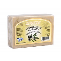 Knossos - Натурален бял сапун със зехтин 100г