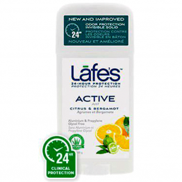 Lafe's - Натурален стик дезодорант Актив 63г*