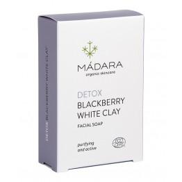 Madara - Почистващ сапун за лице с къпина и бяла глина 70гр