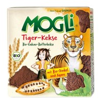 Mogli - Био Бисквити Тигър 125г