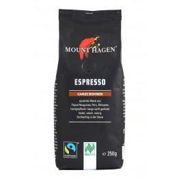 Mount Hagen - Био кафе на зърна 250 г