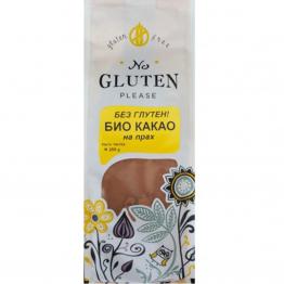 No Gluten Please - Био какао на прах без глутен 250г