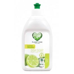Planet Pure - Био препарат за съдове лимон и салвия 510мл
