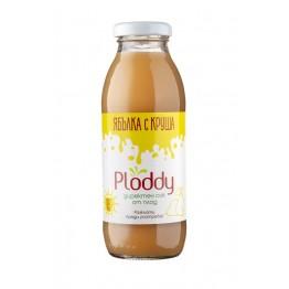 Ploddy - Студено пресован сок Ябълка с круша 300мл