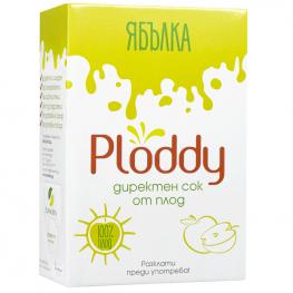 Ploddy - Студено пресован сок Ябълка 3л