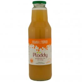 Ploddy - Студено пресован сок Ябълка с морков 750мл