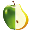 Ploddy - Студено пресован Био сок Ябълка с Круша 750мл