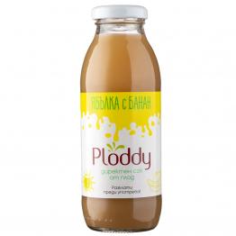 Ploddy - Студено пресован сок Ябълка с банан 300мл