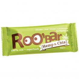 Roo'bar - ROO'BAR с конопен протеин и чиа 30г