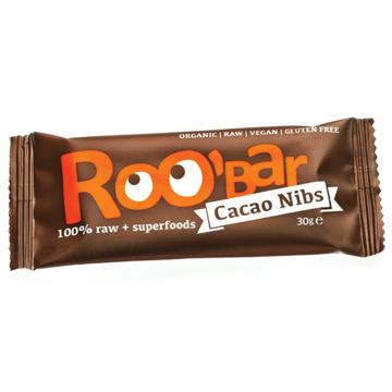 Roo'bar - ROO'BAR с какаови зърна 30г