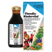 Salus - Детски Мултивитамини Kindervital Floradix 250мл