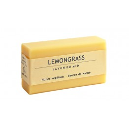 Savon du Midi - Сапун с лимонова трева и карите 100г