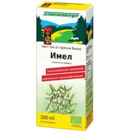 Schoenenberger - Био Сок от Имел 200мл