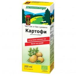Schoenenberger - Био Сок от Картофи 200мл