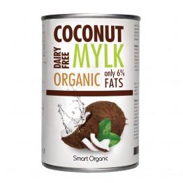 Smart Organic - Био Кокосово Милки 6% мазнини 400мл