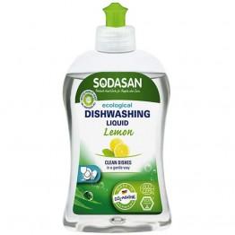 Sodasan - Био препарат за съдове с лимон 500мл