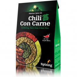 Spizing - Комплект подправки за мексиканско чили Chili Con Carne 30г