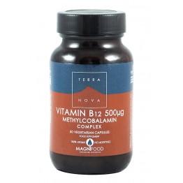 Terra Nova - Витамин B12 метилкобаламин комплекс 50 капсули
